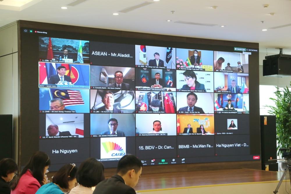 BIDV đồng chủ trì tổ chức Hội nghị thường niên Hiệp hội Liên ngân hàng ASEAN - Trung Quốc