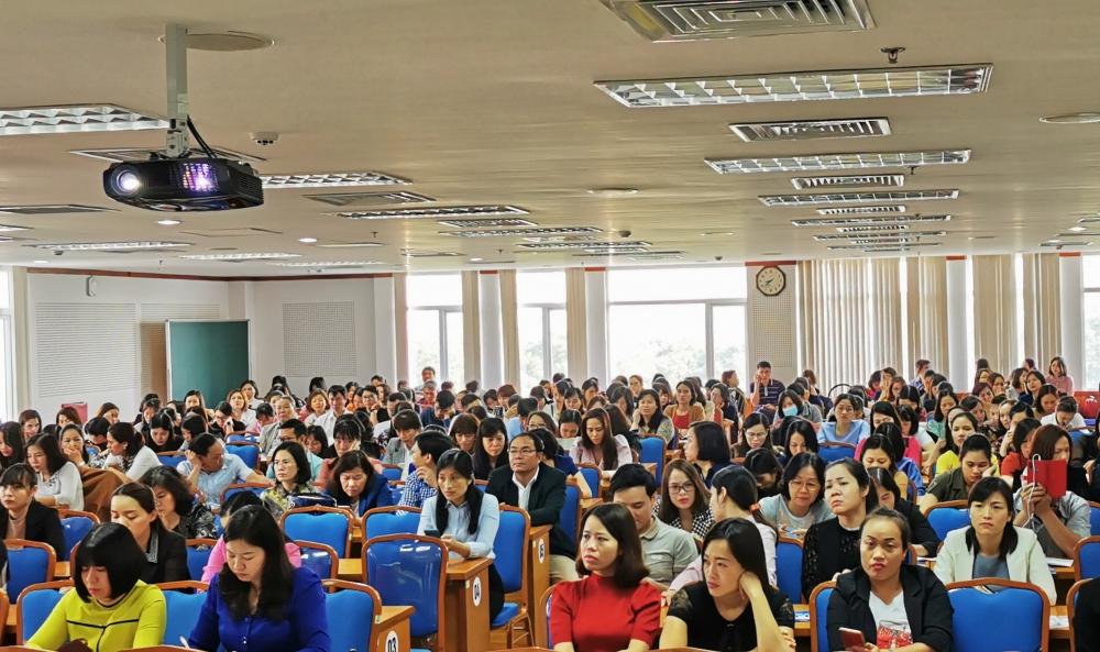 Liên đoàn Lao động quận Long Biên tổ chức bồi dưỡng nghiệp vụ tài chính, kiểm tra công đoàn