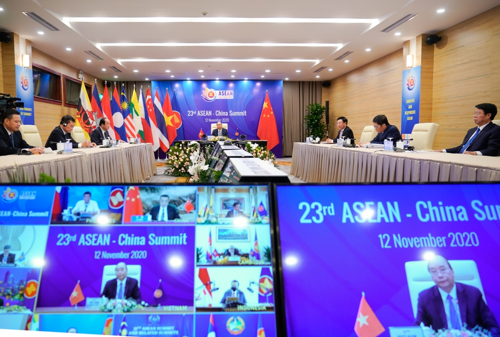 Các nước ASEAN hoan nghênh Trung Quốc cam kết hỗ trợ 1 triệu USD cho Quỹ ASEAN Ứng phó Covid-19
