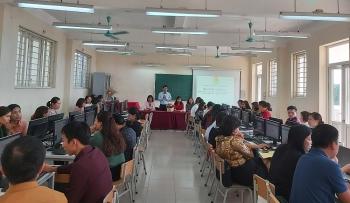 Quận Long Biên: Tập huấn sử dụng phần mềm quản lý đoàn viên cho cán bộ công đoàn