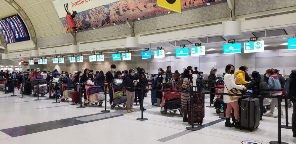 Thực hiện 5 chuyến bay, đưa 840 công dân Việt Nam về nước