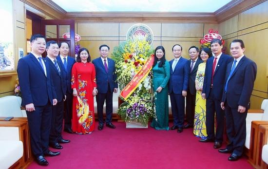Thành ủy Hà Nội chúc mừng Ủy ban Mặt trận Tổ quốc Việt Nam thành phố Hà Nội