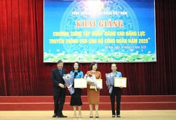 Trao giải Cuộc thi trực tuyến tìm hiểu Bộ luật Lao động năm 2019