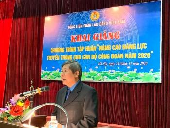 Tổng Liên đoàn tổ chức tập huấn, nâng cao năng lực truyền thông cho cán bộ công đoàn