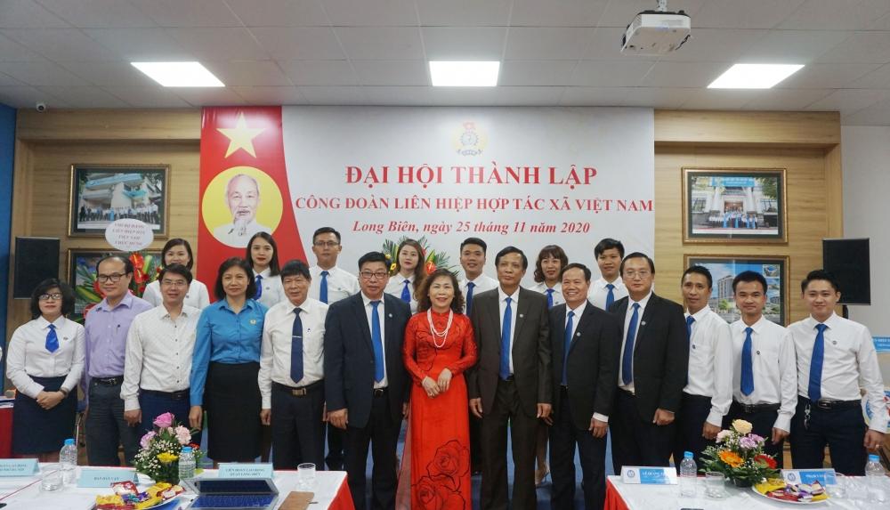 Thành lập Công đoàn Liên hiệp Hợp tác xã Việt Nam khóa I, nhiệm kỳ 2020-2022