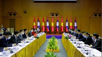 Phó Thủ tướng, Bộ trưởng Ngoại giao Phạm Bình Minh thăm Cộng hòa Dân chủ Nhân dân Lào