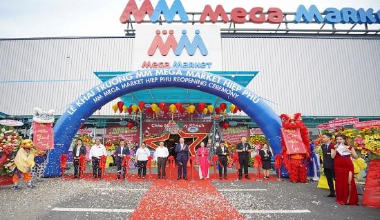 Khai trương MM Mega Market Hiệp Phú với diện mạo mới