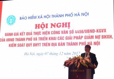 Hà Nội: Quyết liệt vào cuộc giảm nợ BHXH, kiểm soát Quỹ BHYT