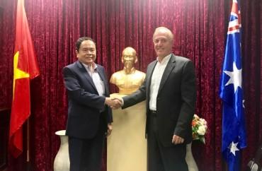 Chủ tịch Ủy ban TƯMTTQ Việt Nam kết thúc tốt đẹp chuyến thăm Australia