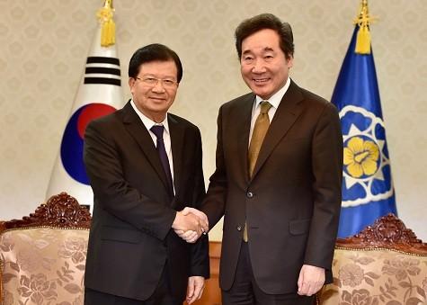 Việt Nam đánh giá cao hiệu quả các dự án đầu tư của Hàn Quốc tại Việt Nam