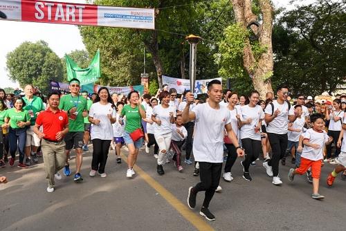 Chạy bộ gây Quỹ từ thiện vì trẻ em Hà Nội 2018
