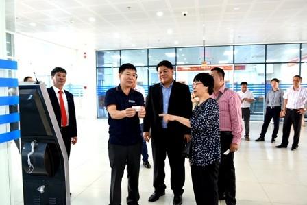 Đoàn cán bộ Quỹ An sinh xã hội Quốc gia Lào thăm, làm việc với BHXH Hà Nội