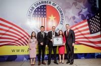 Herbalife Vietnam vinh dự nhận giải thưởng Amcham CSR 2018