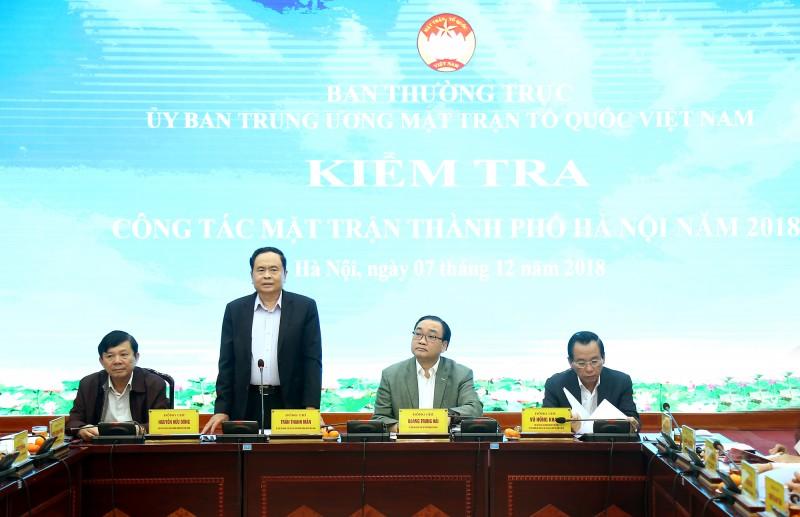 Ủy ban MTTQ Việt Nam TP Hà Nội: Nhiều cách làm mới, chủ động, sáng tạo