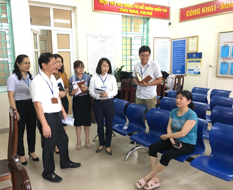 Quận Long Biên: Nêu cao trách nhiệm người đứng đầu trong tiếp công dân