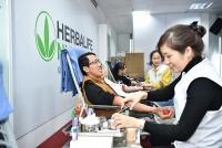 Nhân viên Herbalife Việt Nam tích cực hưởng ứng ngày hiến máu tình nguyện