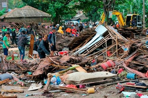Mong nhân dân Indonesia sớm khắc phục hậu quả, ổn định cuộc sống