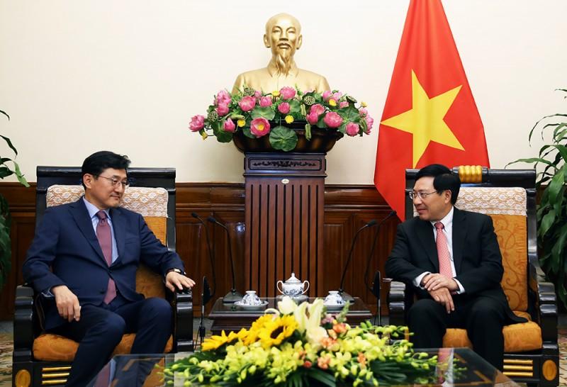 Việt Nam-Hàn Quốc: Phấn đấu thương mại hai chiều đạt 100 tỷ USD vào năm 2020
