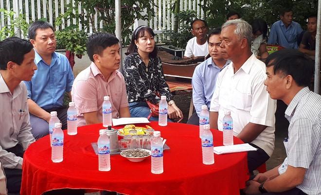 Công đoàn Điện lực Việt Nam thăm hỏi gia đình 4 công nhân bị tử nạn
