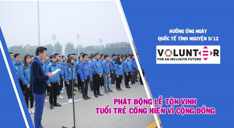 phat dong le ton vinh tuoi tre cong hien vi cong dong nam 2019