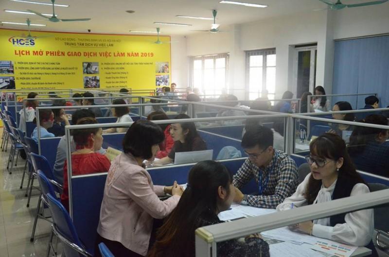 Tổ chức phiên giao dịch việc làm online kết nối 6 tỉnh, thành phố