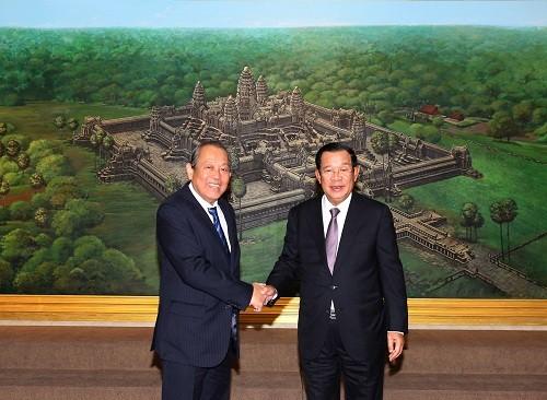Việt Nam – Campuchia: Tăng cường quan hệ đoàn kết, hữu nghị truyền thống và hợp tác toàn diện