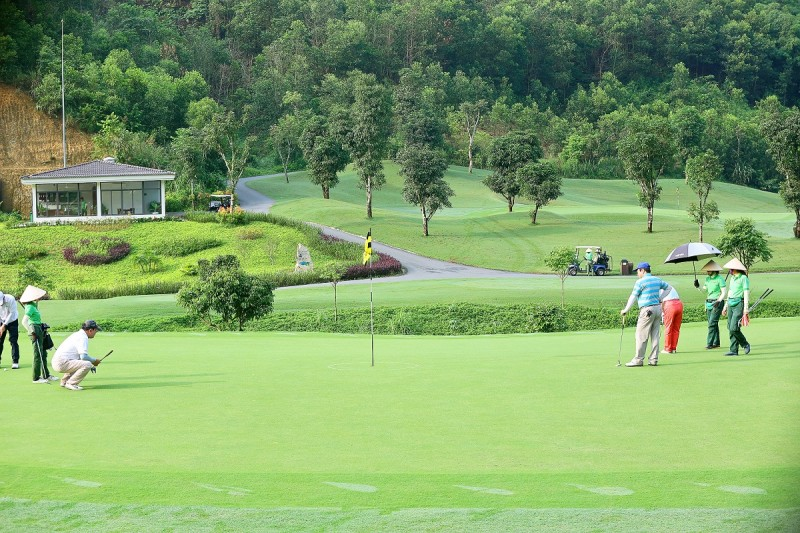 geleximco hilltop valley golf club trai nghiem moi la danh cho cac golf thu