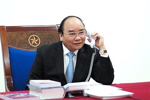 Thủ tướng Nguyễn Xuân Phúc điện đàm với Thủ tướng Chính phủ Liên bang Nga