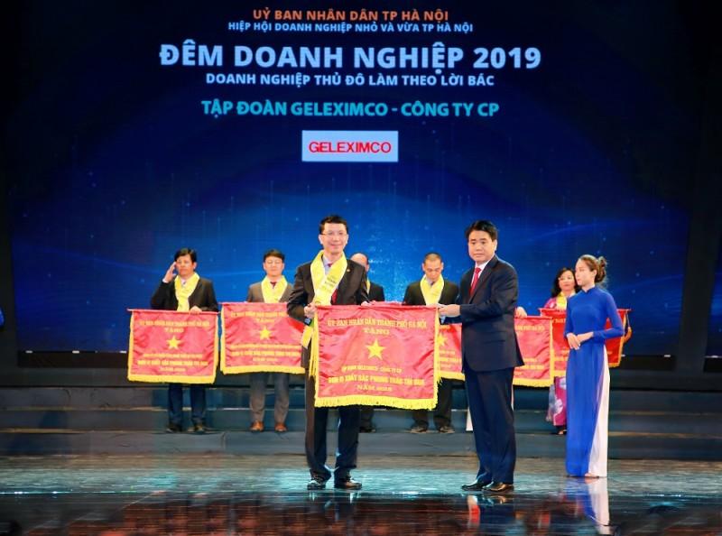 Tập đoàn Geleximco được vinh danh trong Đêm Doanh nghiệp 2019