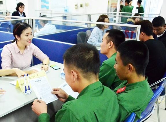 Tổ chức Phiên Giao dịch việc làm dành cho Bộ đội xuất ngũ