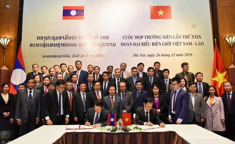 Cuộc họp thường niên lần thứ 29 giữa Đoàn đại biểu biên giới Việt Nam - Lào