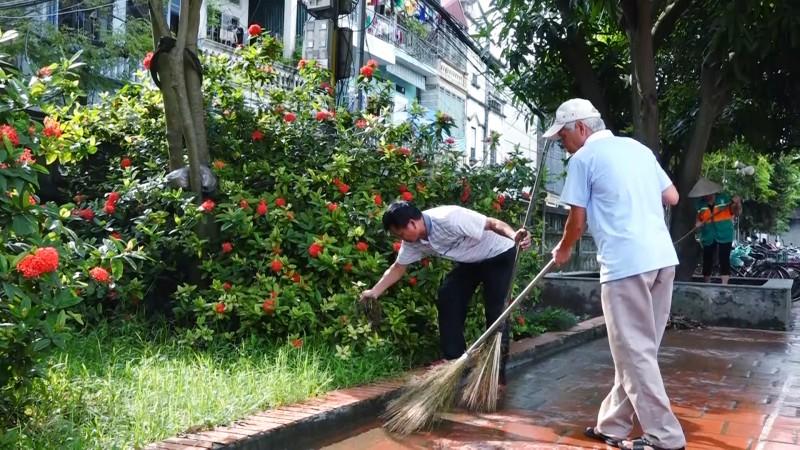 Hiệu quả từ mô hình điểm trong công tác gìn giữ vệ sinh môi trường
