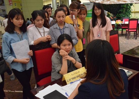 Phiên giao dịch việc làm online kết nối Hà Nội với 5 tỉnh lân cận