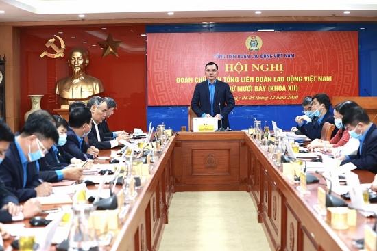 Khai mạc Hội nghị Đoàn Chủ tịch Tổng Liên đoàn Lao động Việt Nam lần thứ 17