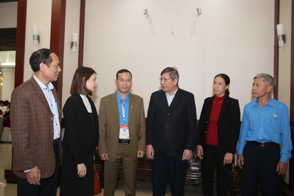 Tổng Liên đoàn gặp mặt cán bộ công đoàn, công nhân tiêu biểu dự Đại hội Thi đua yêu nước toàn quốc