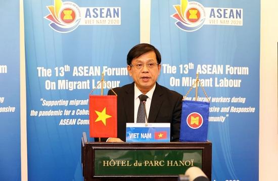Hỗ trợ lao động di cư trong đại dịch hướng tới Cộng đồng ASEAN gắn kết và chủ động thích ứng