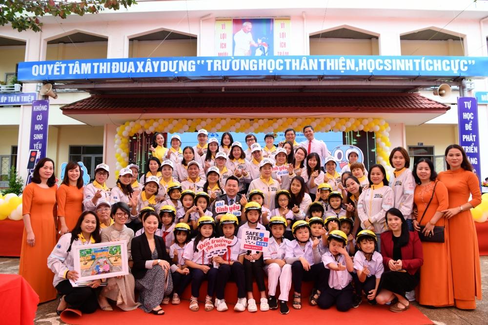 """Khởi động dự án """"Đến trường an toàn"""" tại Bắc Giang và Đắk Lắk"""