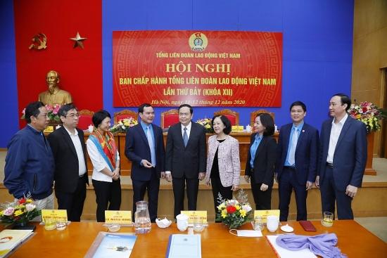 Khai mạc Hội nghị Ban Chấp hành Tổng Liên đoàn Lao động Việt Nam lần thứ 7 khóa XII