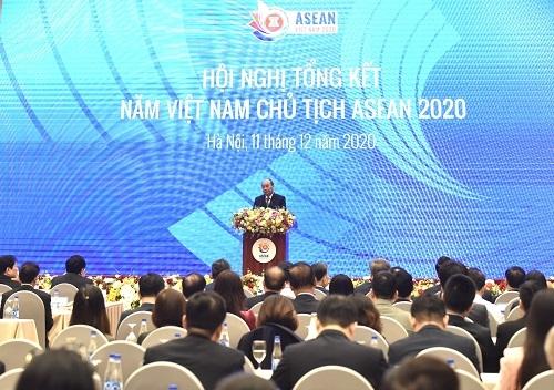 Năm Chủ tịch ASEAN 2020 đã thành công toàn diện, vang dội
