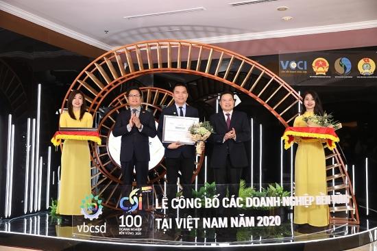 Herbalife Việt Nam tiếp tục được vinh danh Top 100 Doanh nghiệp bền vững Việt Nam 2020