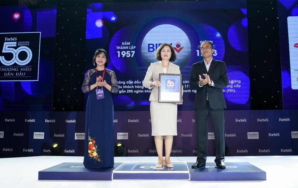 BIDV lọt vào Top 50 thương hiệu dẫn đầu 2020