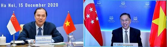 Việt Nam - Singapore: Tăng cường hợp tác trên các lĩnh vực mỗi bên có tiềm năng và thế mạnh
