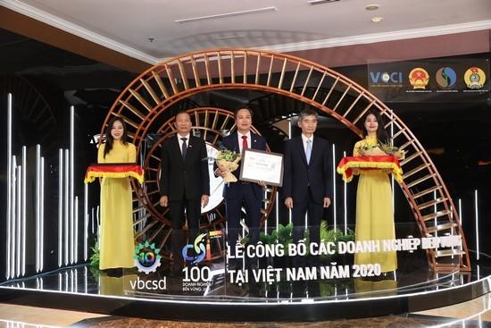"""UDIC vinh dự nhận Giải thưởng """"Doanh nghiệp phát triển bền vững tại Việt Nam năm 2020"""""""