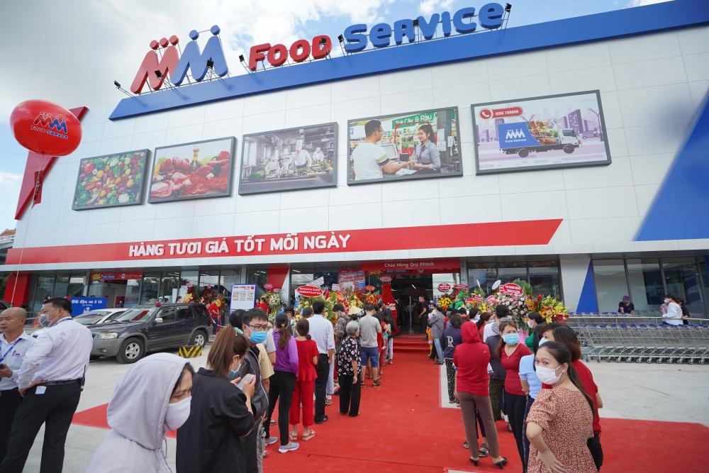 MM Mega Market Việt Nam khai trương Trung tâm phân phối và bán sỉ thực phẩm Food Service Hưng Phú