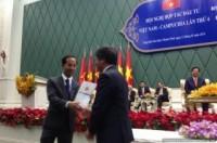 Vinamilk được trao giấy phép đầu tư vào Campuchia
