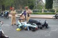 39 vụ tai nạn trong ngày đầu tiên của năm mới