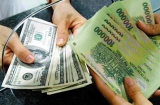 Các ngân hàng đồng loạt tăng giá đồng USD