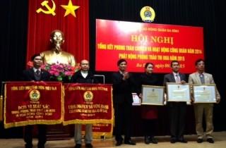LĐLĐ quận Ba Đình được tặng cờ thi đua của Tổng LĐLĐ Việt Nam