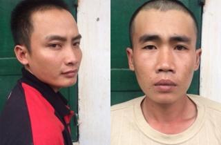 Hai tên cướp gây án trước camera an ninh