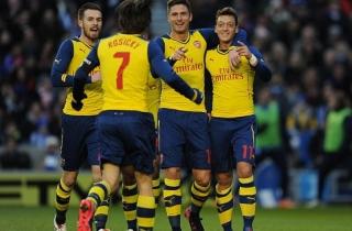 Brighton 2-3 Arsenal: Thót tim!